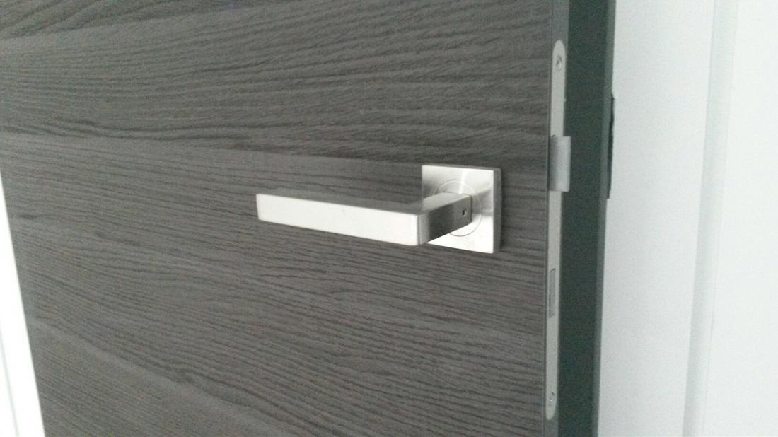 West vancouver interior door projects a closer look at - Contemporary interior door knobs ...