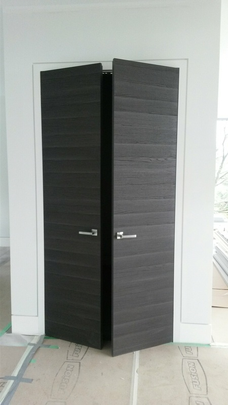 Hidden Hinges Frameless Doors Vancouver & West Vancouver Interior Door Projects - A closer look at Interior ...
