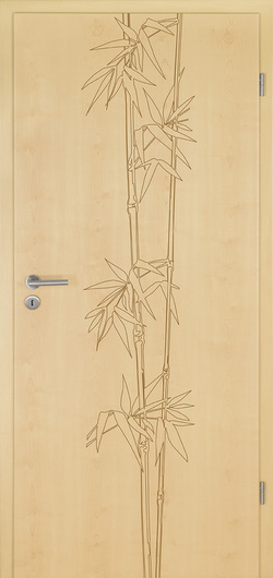 Interior Door Custom Bamboo